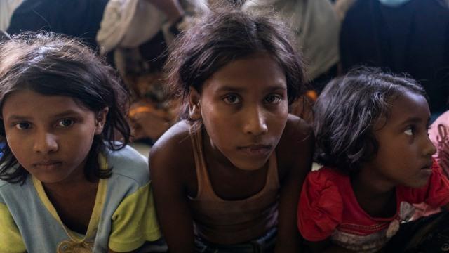 Bikin Haru, Tatapan Anak Pengungsi Rohingya di Aceh  (229755)