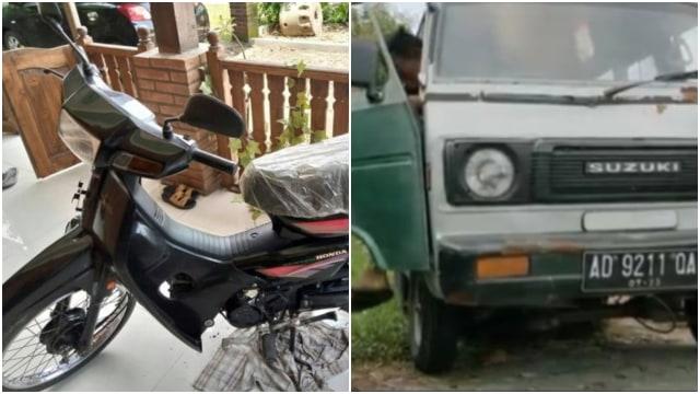 Mobil Suzuki Truntung Pakai Mesin Astrea Grand, Netizen: Insinyur Jepang Nangis (9179)