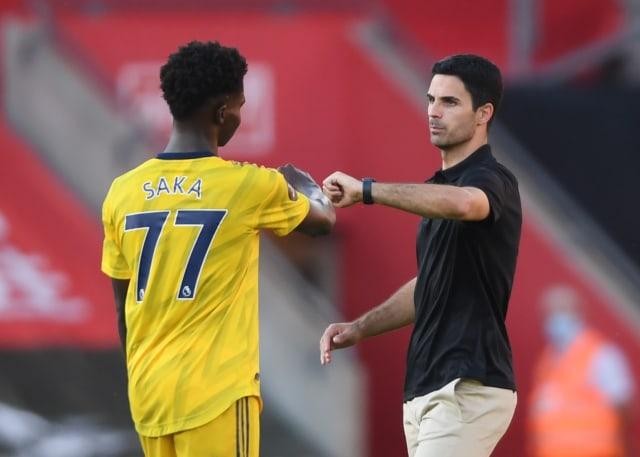 Mikel Arteta soal Saka Gagal Penalti dan Diserang Rasialisme: Dia Baik-baik Saja (600788)