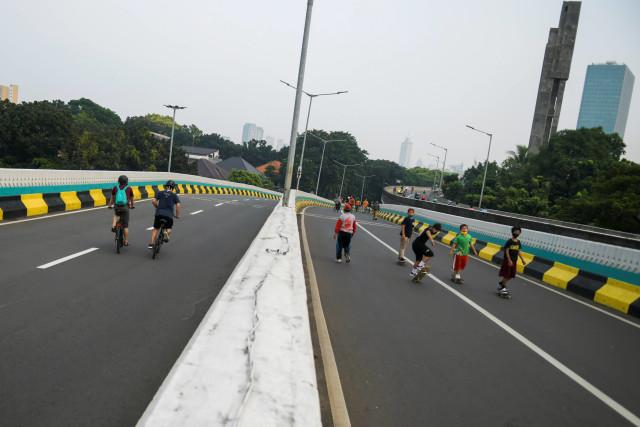 Tentang CFD yang Tetap Ramai Meski Tak Dihelat di Sudirman-Thamrin  (28586)