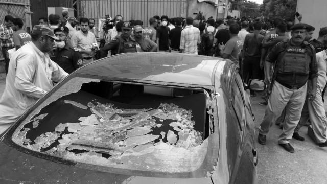 Separatis BLA Klaim Bertanggung Jawab Atas Serangan di Bursa Efek Pakistan (132109)