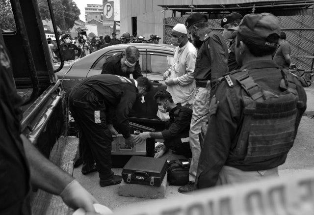 Bursa Efek Pakistan Diserang, Empat Pelaku Teror Tewas (98757)