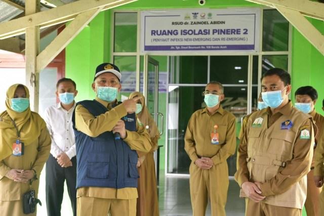 Kasus COVID-19 Meningkat, Aceh Tambah 24 Ruang Isolasi di RSUDZA (140911)