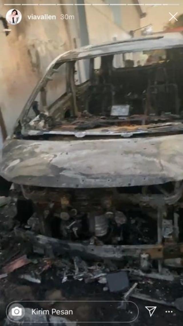 Via Vallen Sebut Pelaku yang Membakar Mobilnya Sudah Diamankan Polisi (466663)