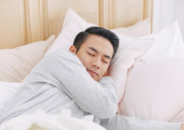 Ilustrasi tidur nyenyak