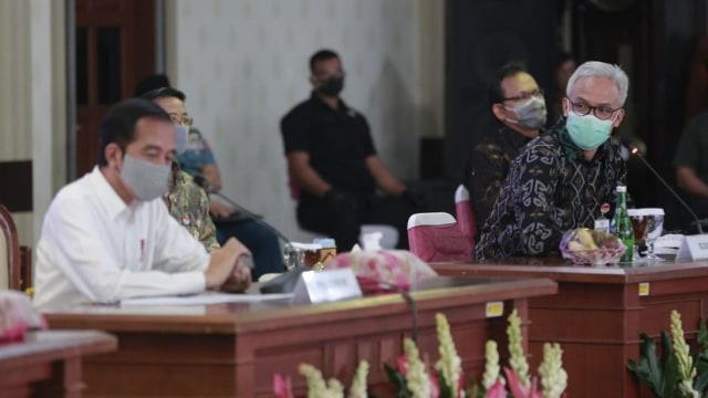 Ganjar dan Jokowi