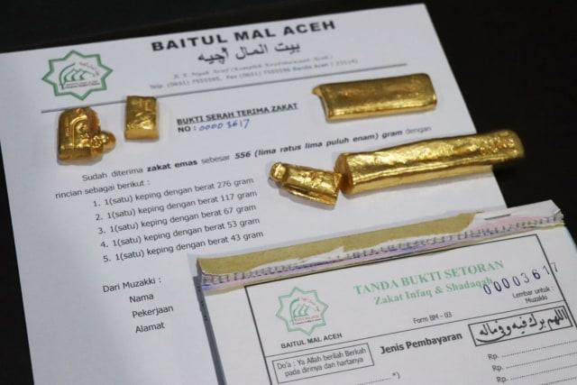 Seorang Warga Aceh Tunaikan 166 Mayam Emas Lebih untuk Bayar Zakat (17945)
