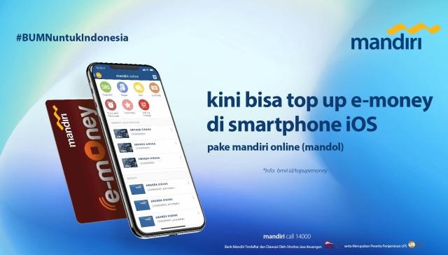 New Normal Mandiri Online Tambah Fitur Update Saldo E Money Di Ios Kumparan Com