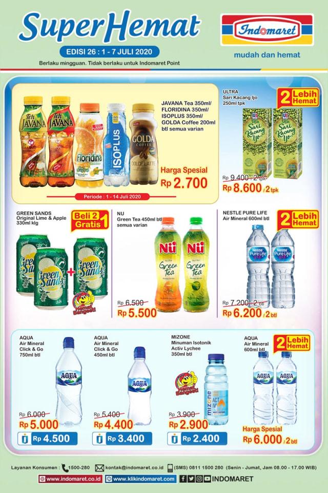 Katalog Promo Indomaret 1 7 Juli 2020 Belanja Kebutuhan Super Murah Kumparan Com