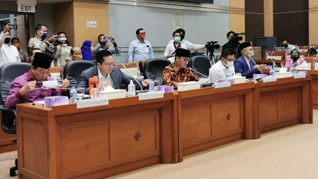 Rapat Komisi VIII DPR RI