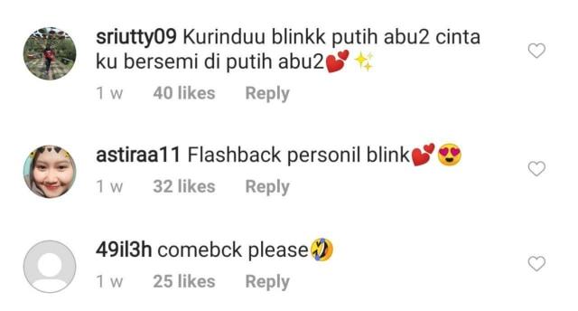 Reuni Girlband BLINK, Netizen: Comeback Dong! (204013)