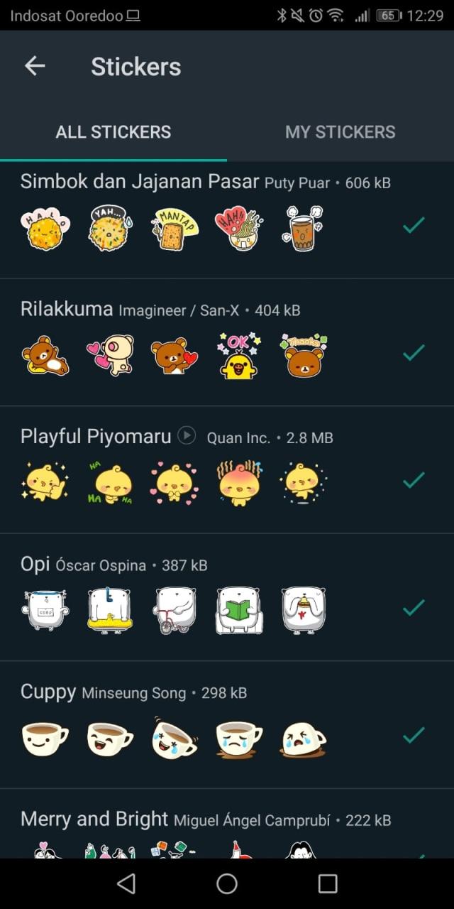 Whatsapp Punya Fitur Baru Stiker Animasi Lucu Begini Cara Pakainya Kumparan Com