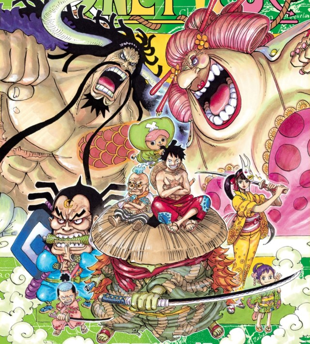 Spoiler One Piece 984 Buka Topeng Yamato Ternyata Wanita Kumparan Com