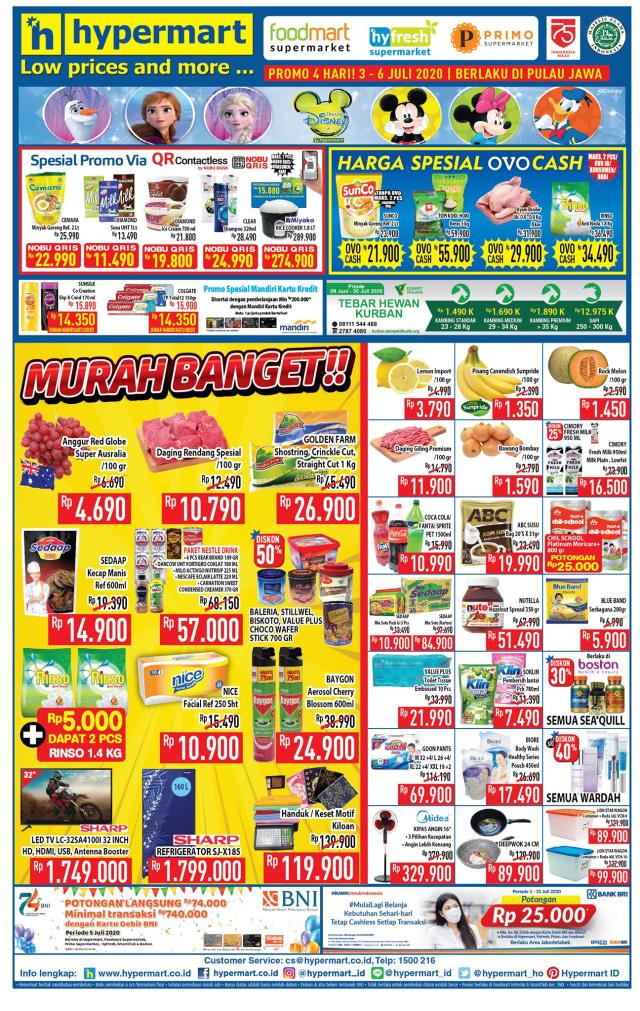 Katalog Promo Hypermart JSM Weekend Periode 3-6 Juli 2020, Diskon Hingga 70% (34549)