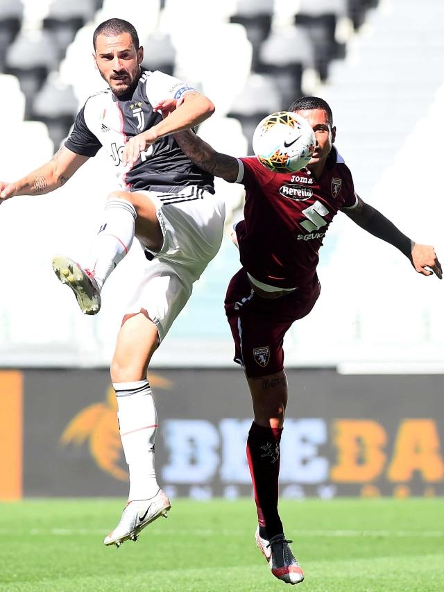 Juventus vs Torino: Kado Manis Juve untuk Gianluigi Buffon (30116)