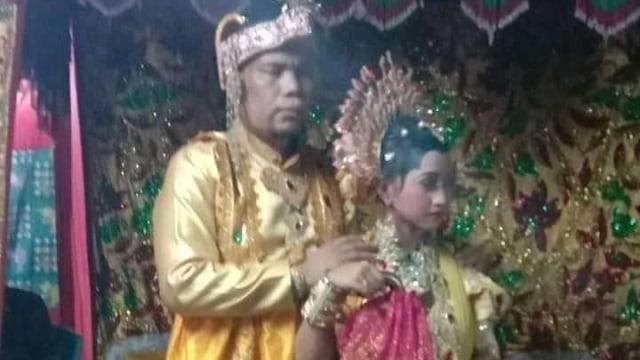 Gadis Usia 12 Tahun Menikah Dengan Pria Tuna Netra Usia 44 Tahun di Sulsel