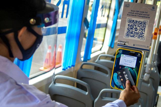 Mau Naik Bus Listrik Transjakarta, Ini 37 Halte Pemberhentiannya (123817)