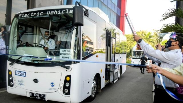 Mau Naik Bus Listrik Transjakarta, Ini 37 Halte Pemberhentiannya (123815)
