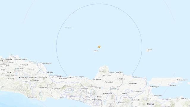 Guncangan Gempa 6,1 M Jepara Terasa di Purwokerto, Yogyakarta, hingga Bali (108261)