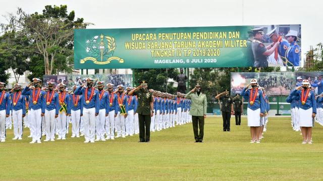 Jenderal Andika Perkasa Wisuda Taruna Akmil, Angga Andika Raih Adhi Makayasa (400903)