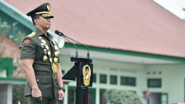 Jenderal Andika Perkasa Wisuda Taruna Akmil, Angga Andika Raih Adhi Makayasa (1)