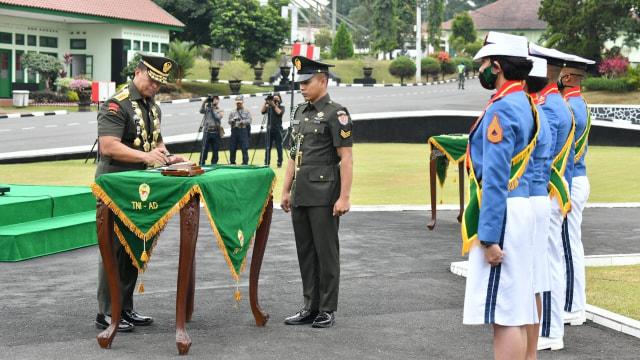 Jenderal Andika Perkasa Wisuda Taruna Akmil, Angga Andika Raih Adhi Makayasa (2)