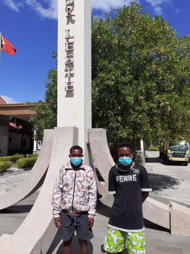 2 Nelayan asal NTT yang Terdampar di Pantai Timor Leste Dipulangkan ke Indonesia (82104)