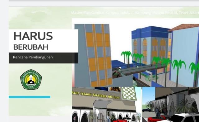 Menuju Universitas Islam Modern, UNIAT Siap Revitalisasi Kampus