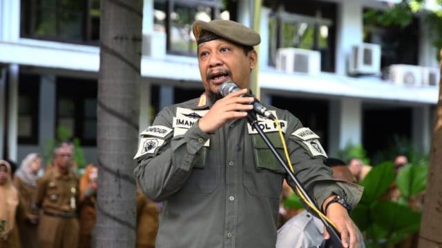 Viral Pasukan Satpol PP di Makassar Berfoto dengan Sepeda Brompton  (149297)