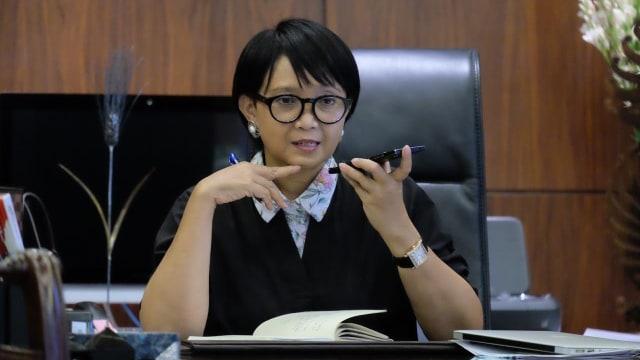 Ke Inggris, Menlu Bela Produk Andalan Ekspor Indonesia: dari Kopi sampai Sawit
