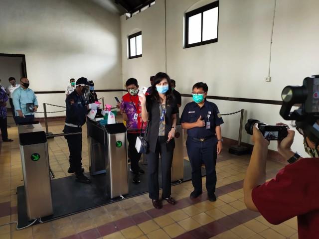 Lawang Sewu Kembali Dibuka, Pengunjung Dibatasi 5 Ribu Orang Per Hari (336464)