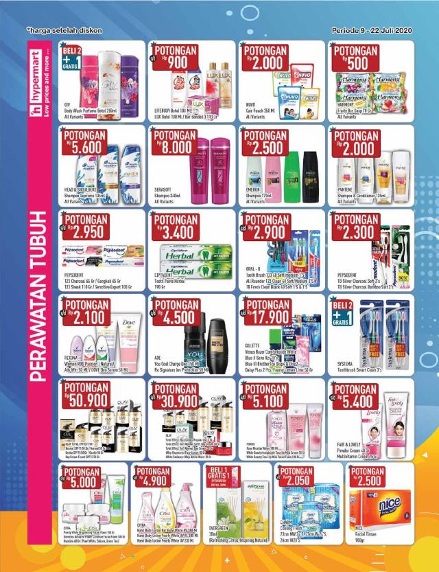 Katalog Promo Hypermart Periode 9-22 Juli 2020 (137500)