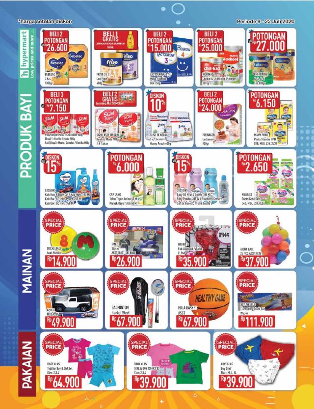 Katalog Promo Hypermart Periode 9-22 Juli 2020 (137501)