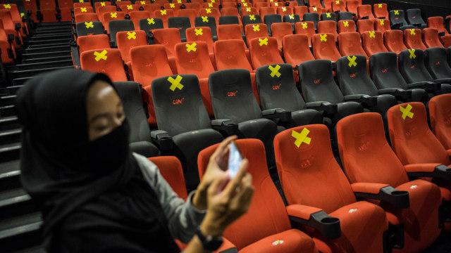 Penonton Bioskop Tak Pakai Masker Bisa Ditandai dengan Infrared dan Laser (78019)