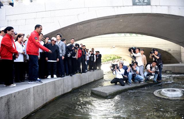 Park Won-soon yang Menginspirasi Jokowi Sulap Ciliwung Seperti Sungai di Seoul (282463)
