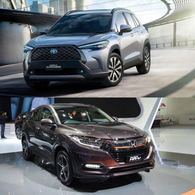 Toyota Corolla Cross vs Honda HR-V 1.8 L, Mana yang Lebih Menarik? (66521)