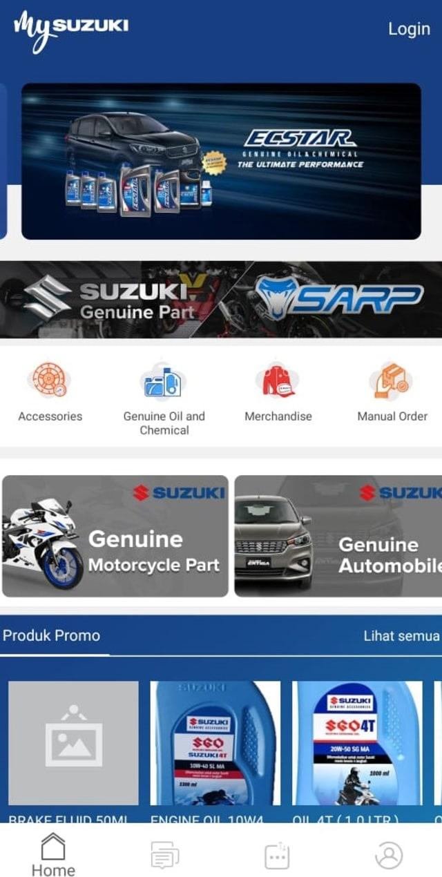 Suzuki Jamin Stok Suku Cadang Motor dan Mobil Aman (5286)