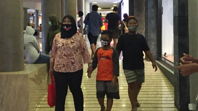 New Normal di Bali: Warga Kembali  Kunjungi Mal hingga Jalanan Mulai Ramai (538537)