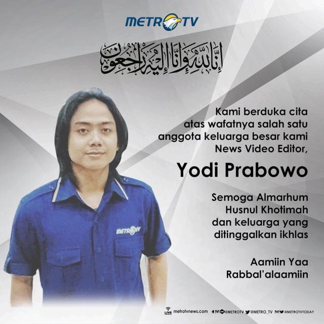 Polisi Periksa Karyawan MetroTV Terkait Tewasnya Yodi Prabowo (8436)