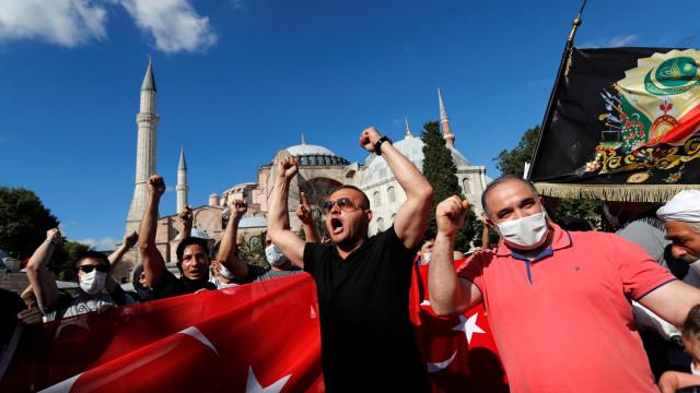 Amerika Serikat Kecewa Turki Jadikan Kembali Hagia Sophia sebagai Masjid (4608)