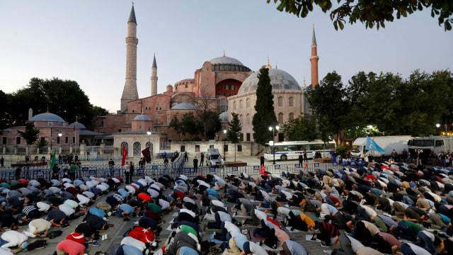 Amerika Serikat Kecewa Turki Jadikan Kembali Hagia Sophia sebagai Masjid (4607)