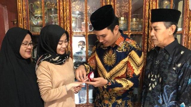 Resmi Lamaran, Aldi Taher dan Salsabillih Akan Menikah Bulan September (2)