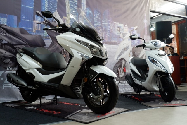 Motor Baru Kymco X-Town 250i dan GP 125, Simak Spesifikasinya (12337)