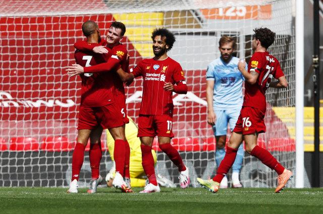 Liverpool vs Burnley: Imbang, The Reds Gagal Catatkan Rekor Kandang Sempurna (217838)