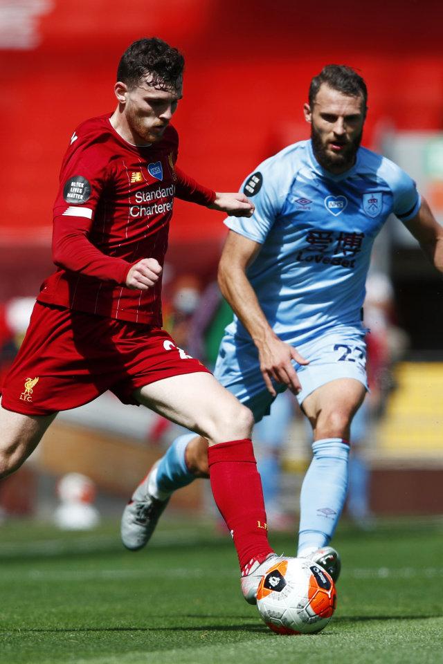 Liverpool vs Burnley: Imbang, The Reds Gagal Catatkan Rekor Kandang Sempurna (217837)