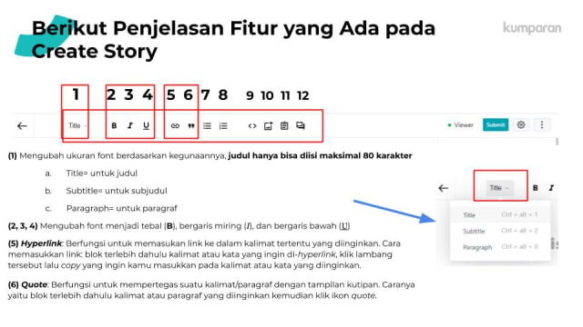 Cara Bikin Akun dan Posting Story di kumparan (10751)