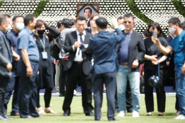 Pemakaman Wali Kota Seoul yang Tersandung Pelecehan Seksual Picu Kontroversi (603838)