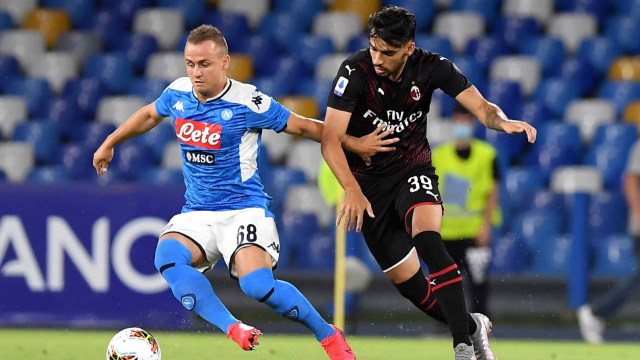 Live Streaming Napoli vs AC Milan di Liga Italia (665300)