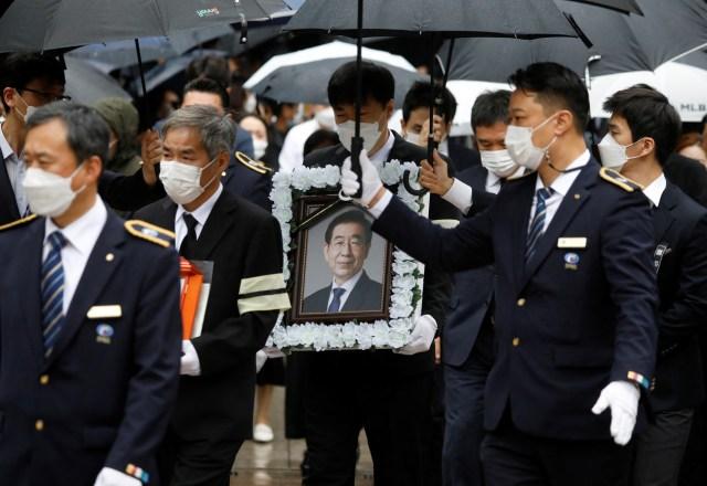 Pemakaman Wali Kota Seoul yang Tersandung Pelecehan Seksual Picu Kontroversi (603835)