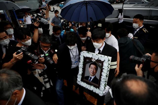 Pemakaman Wali Kota Seoul yang Tersandung Pelecehan Seksual Picu Kontroversi (603836)